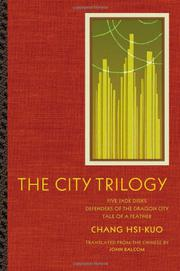 Cover art for THE CITY TRILOGY