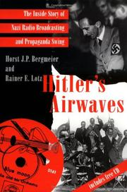 Book Cover for HITLER'S AIRWAVES