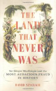 Book Cover for THE LAND THAT NEVER WAS