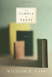 Book Cover for A TEMPLE OF TEXTS
