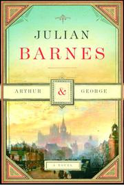 Cover art for ARTHUR AND GEORGE