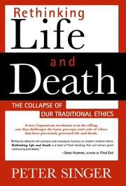 Cover art for RETHINKING LIFE AND DEATH