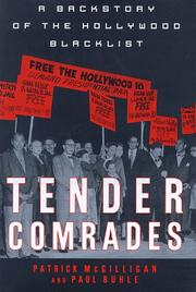 Cover art for TENDER COMRADES