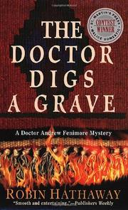 Book Cover for THE DOCTOR DIGS A GRAVE