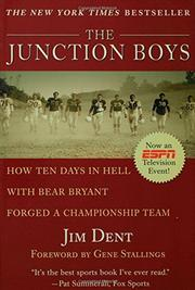 Book Cover for THE JUNCTION BOYS