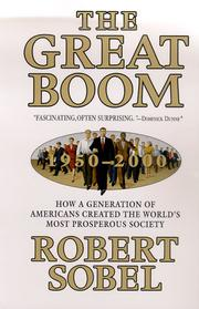 Cover art for THE GREAT BOOM