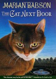 Cover art for THE CAT NEXT DOOR