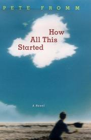 Cover art for HOW ALL THIS STARTED