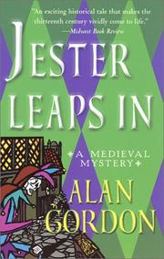 Cover art for JESTER LEAPS IN
