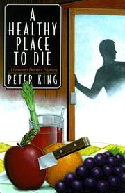 Cover art for A HEALTHY PLACE TO DIE