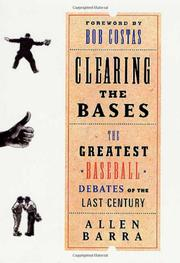 Cover art for CLEARING THE BASES