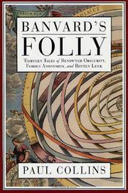 Cover art for BANVARD'S FOLLY