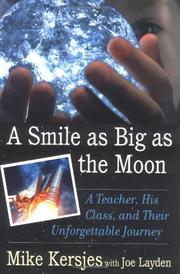 Cover art for A SMILE AS BIG AS THE MOON