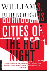 Cover art for CITIES OF THE RED NIGHT
