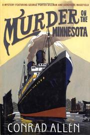 Cover art for MURDER ON THE MINNESOTA