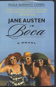 Cover art for JANE AUSTEN IN BOCA