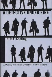 Cover art for A DETECTIVE UNDER FIRE
