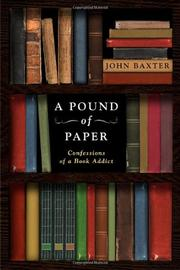 Book Cover for A POUND OF PAPER