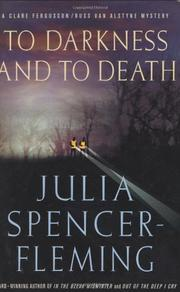 Cover art for TO DARKNESS AND TO DEATH