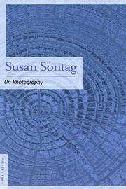 Book Cover for ON PHOTOGRAPHY