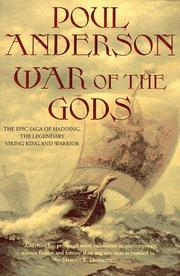 Cover art for WAR OF THE GODS