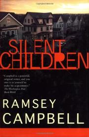 Cover art for SILENT CHILDREN