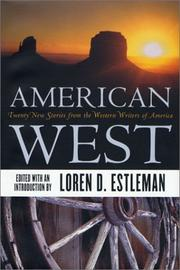 Cover art for AMERICAN WEST