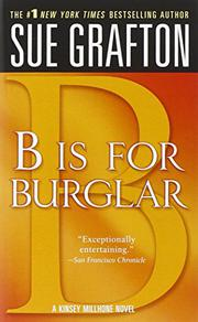 Book Cover for 'B' IS FOR BURGLAR