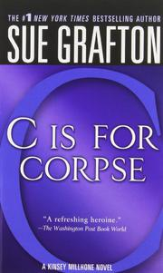 Cover art for 'C' IS FOR CORPSE