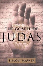 Cover art for THE GOSPEL OF JUDAS
