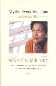Book Cover for WATCH ME FLY