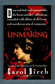 Cover art for THE UNMAKING