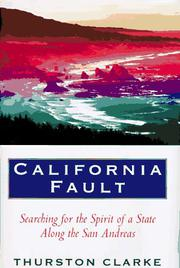 Cover art for CALIFORNIA FAULT