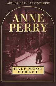 Cover art for HALF MOON STREET