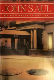 Cover art for THE MANHATTAN HUNT CLUB