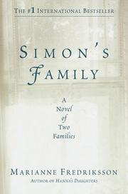 Cover art for SIMON'S FAMILY