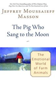 Cover art for THE PIG WHO SANG TO THE MOON