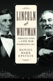 Book Cover for LINCOLN AND WHITMAN