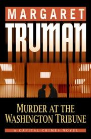 Cover art for MURDER AT THE WASHINGTON TRIBUNE