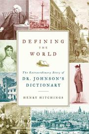 Book Cover for DEFINING THE WORLD