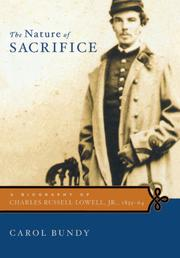 Cover art for THE NATURE OF SACRIFICE