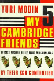 Cover art for MY FIVE CAMBRIDGE FRIENDS