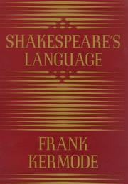 Book Cover for SHAKESPEARE'S LANGUAGE