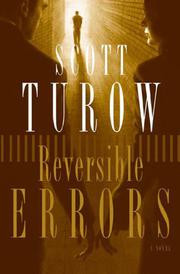 Book Cover for REVERSIBLE ERRORS