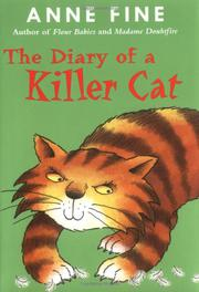 Book Cover for THE DIARY OF A KILLER CAT