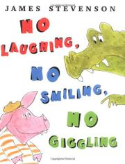 Cover art for NO LAUGHING, NO SMILING, NO GIGGLING
