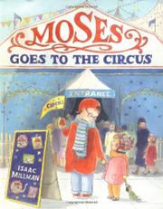 Cover art for MOSES GOES TO THE CIRCUS