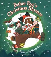Cover art for FATHER FOX'S CHRISTMAS RHYMES