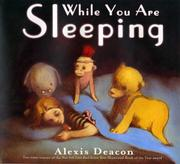 Cover art for WHILE YOU ARE SLEEPING