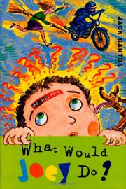 Book Cover for WHAT WOULD JOEY DO?